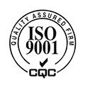 "<div style=""text-align:center;""> ISO9001认证 </div>"